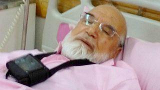El líder reformista iraní Mehdi Karubi, hospitalizado tras iniciar una huelga de hambre
