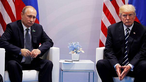 Putin ou Trump, qual o mais confiável?
