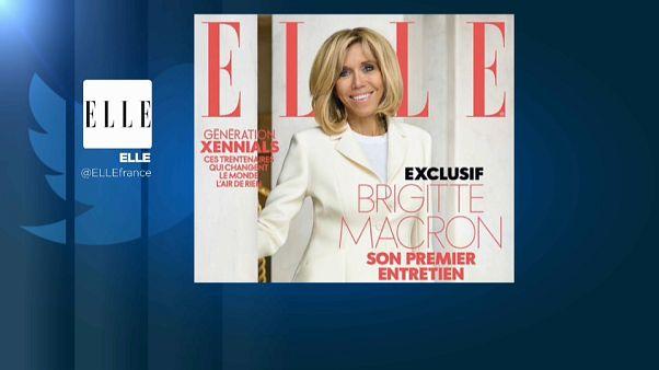 Brigitte Macron se sincera