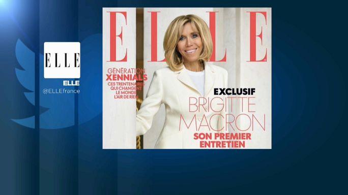 Brigitte Macron bricht ihr Schweigen - in ELLE