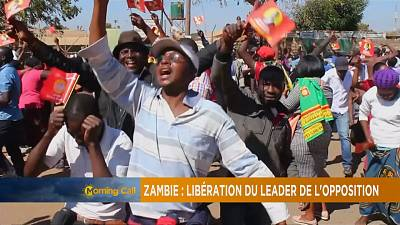 Zambia drops treason charges against main opposition leader