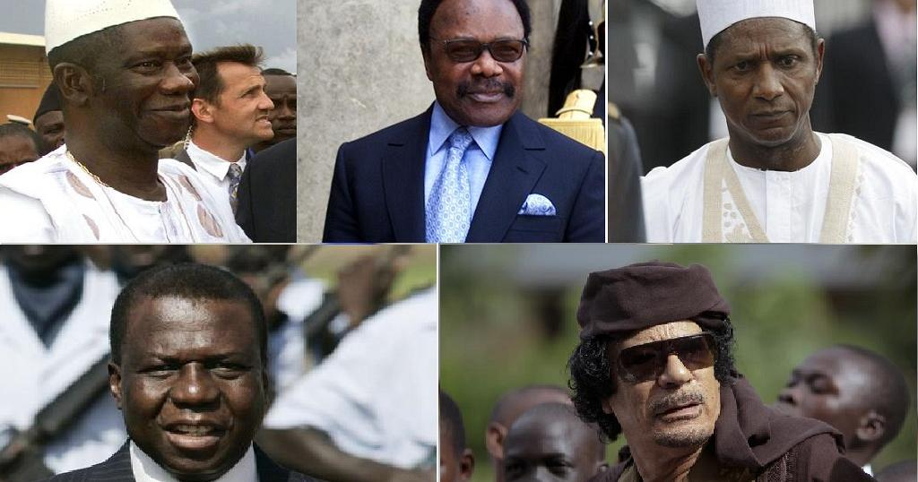 Image result for African Presidents Who Died In Office