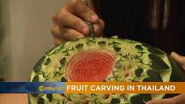 Fruit carving in Thailand [The Morning Call]
