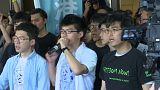 """Hong Kong: in carcere i leader del """"movimento degli ombrelli"""""""