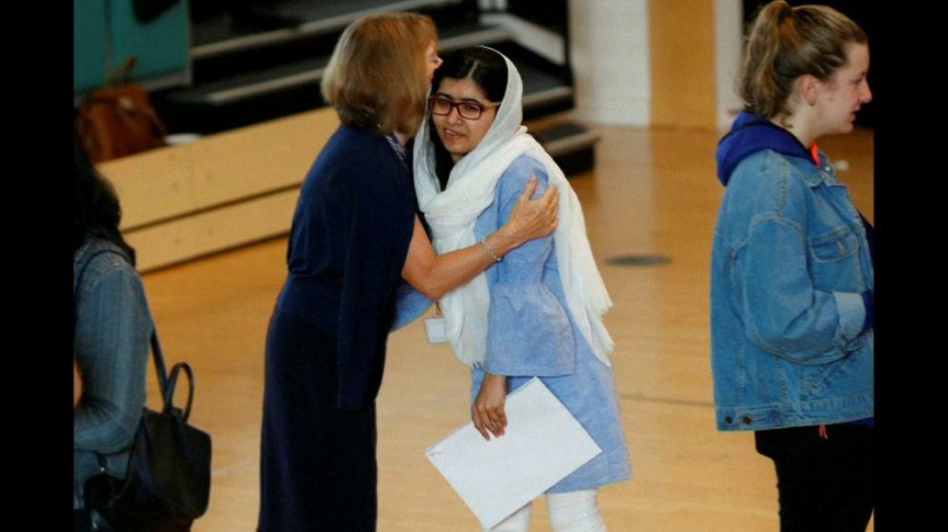 Малала идет в Оксфорд