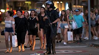 Furgon hajtott a tömegbe Barcelonában