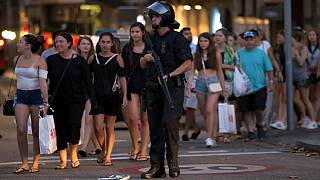 Barcelona attack: Van crashes into crowds in Ramblas tourist area