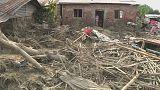 Nach den Überschwemmungen in Nepal