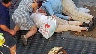 Halálos gázolásos támadás Barcelonában