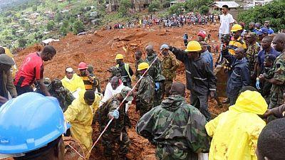 Sierra Leone : au moins 600 disparus après les inondations
