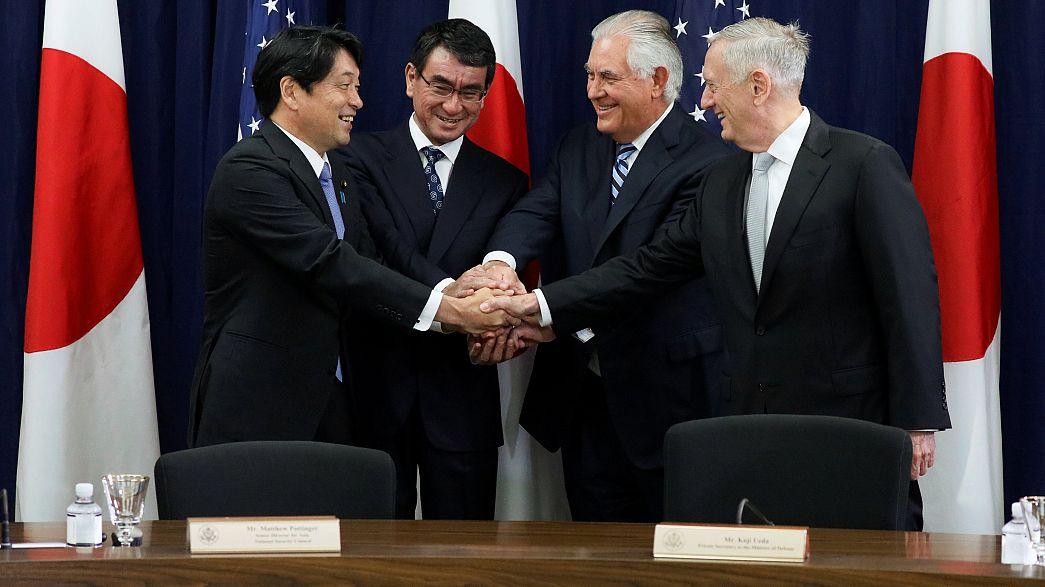 ABD ile Japonya askeri işbirliğini güçlendiriyor
