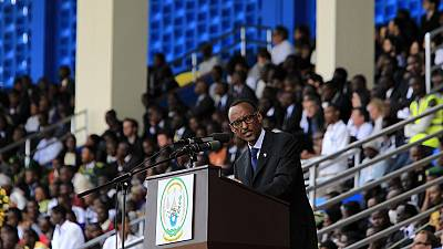Rwanda's Paul Kagame takes oath of office for third term