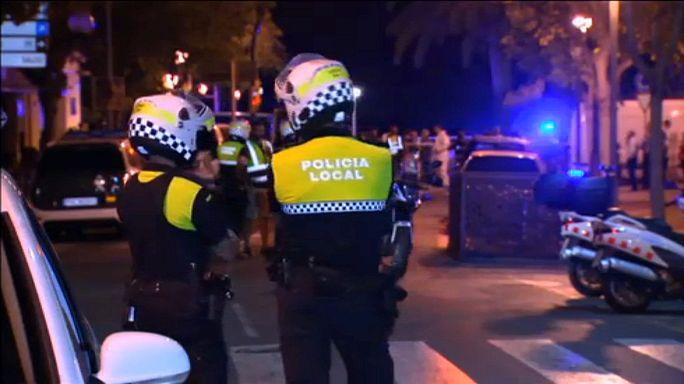 Négy halott egy rendőrségi akcióban Barcelona mellett