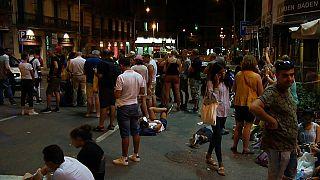 Barselona halkı kenetlendi
