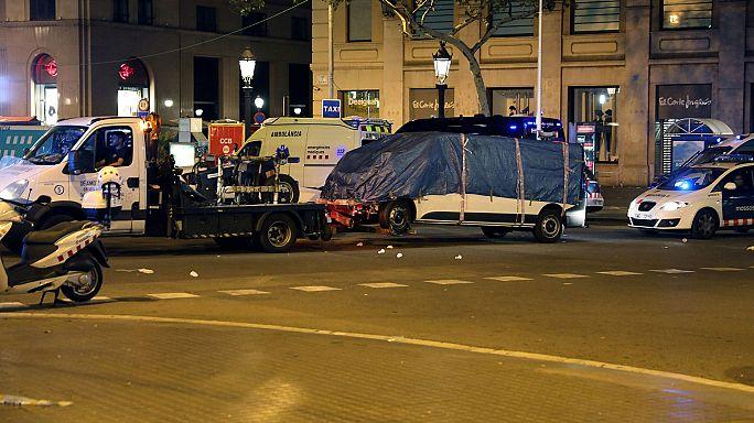 Manhunt underway after Barcelona terror attack
