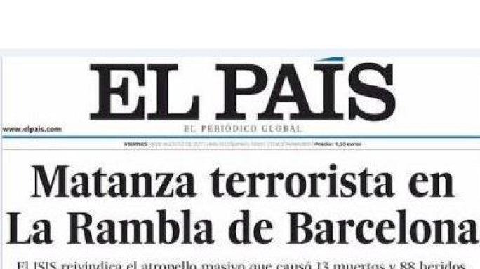 'Evil strikes again': Europe's papers on Barcelona terror
