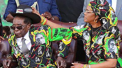 Une alerte rouge lancée aux frontières sud-africaines pour signaler la sortie de Grace Mugabe