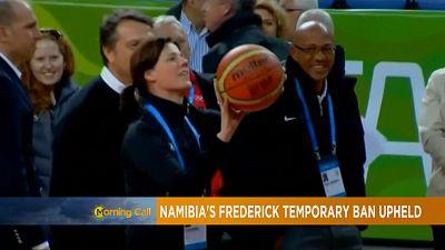 Athlétisme : la suspension de Frankie Fredericks confirmée