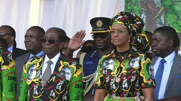 Immunità diplomatica per la moglie di Mugabe