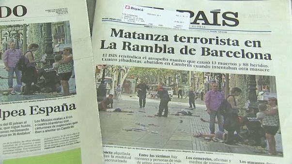 Madrid se solidariza con Barcelona