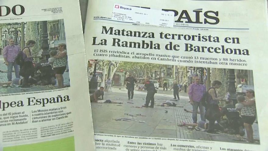 Жители Мадрида выражают соболезнования