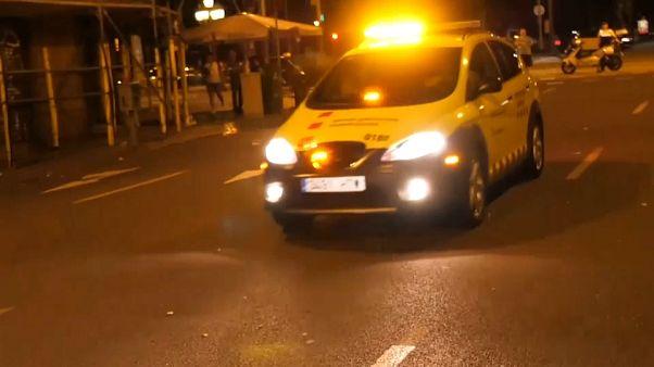 Zaklatott éjszaka Barcelonában