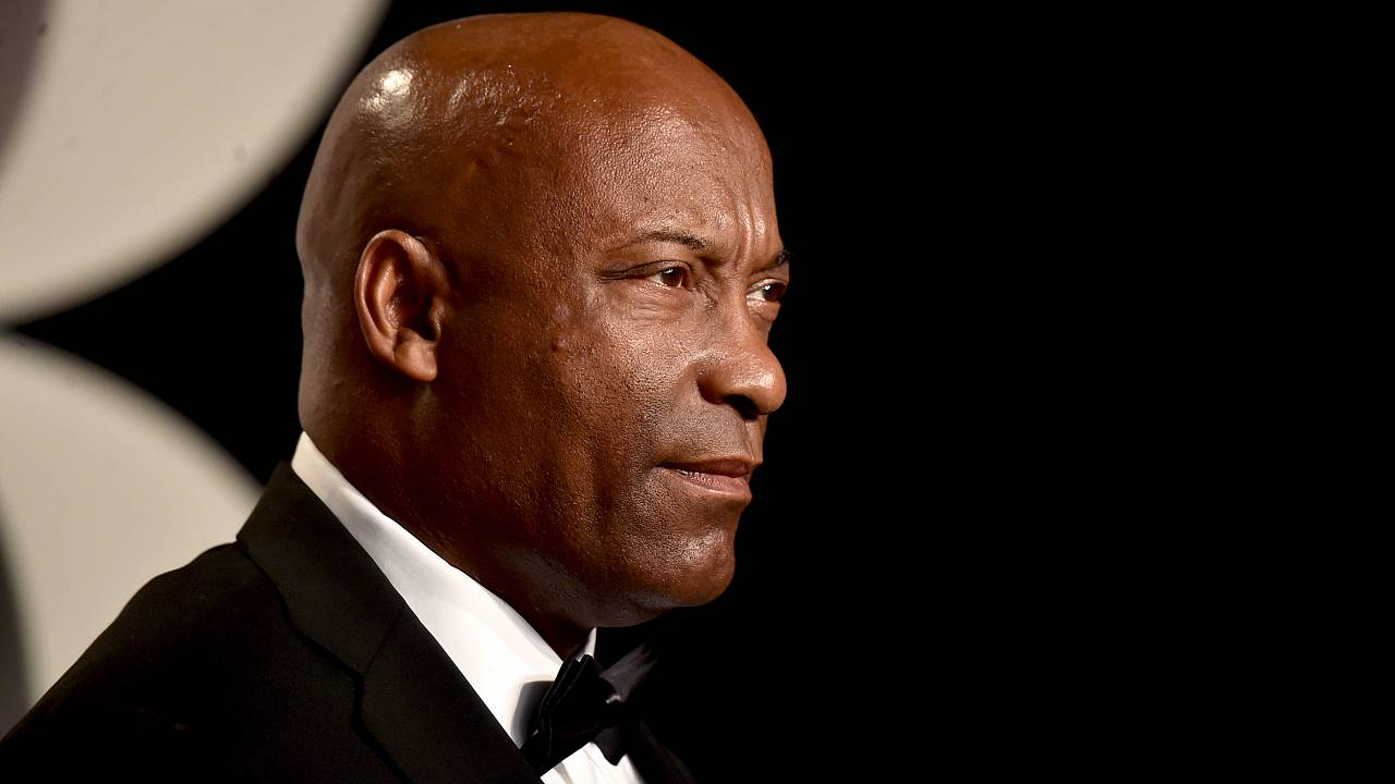 Image: John Singleton attends the Vanity Fair Oscar Party in Beverly Hills