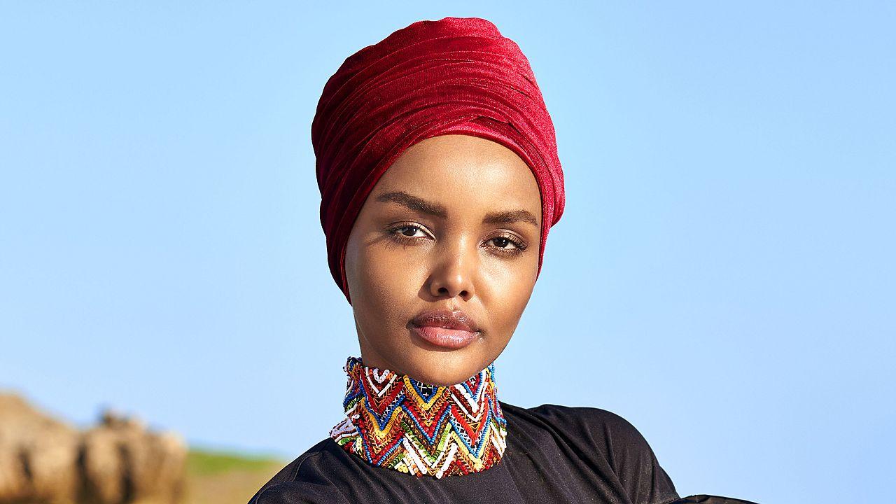 SI model makes history wearing hijab, burkini