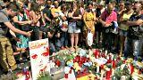 إسبانيا تقف دقيقة صمت حدادا على ضحايا اعتداء برشلونة