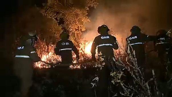 Újabb erdőtűz Portugáliában