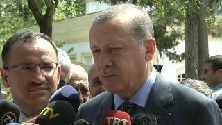 """Erdogan agli elettori turchi in Germania: """"Non votate per i nemici della Turchia"""""""