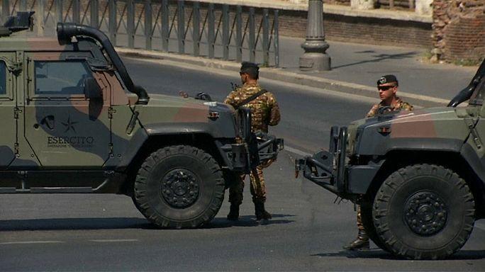 Allerta anche a Roma per gli attentati in Catalogna