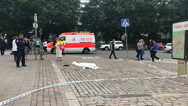 إصابة عدة أشخاص في عملية طعن في مدينة توركو الفنلندية