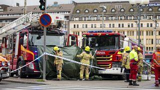 Нападение с ножом на прохожих в Финляндии