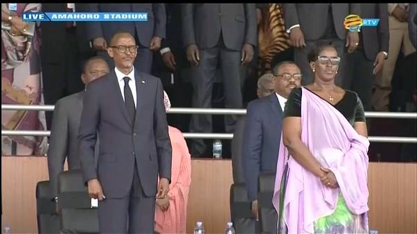 Kagame sworn in for another term leading Rwanda