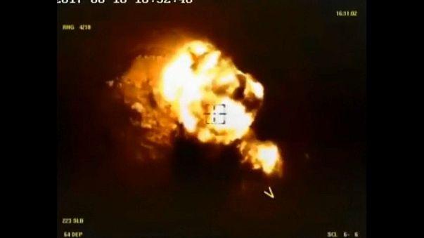 Россия нанесла удар по позициям ИГИЛ