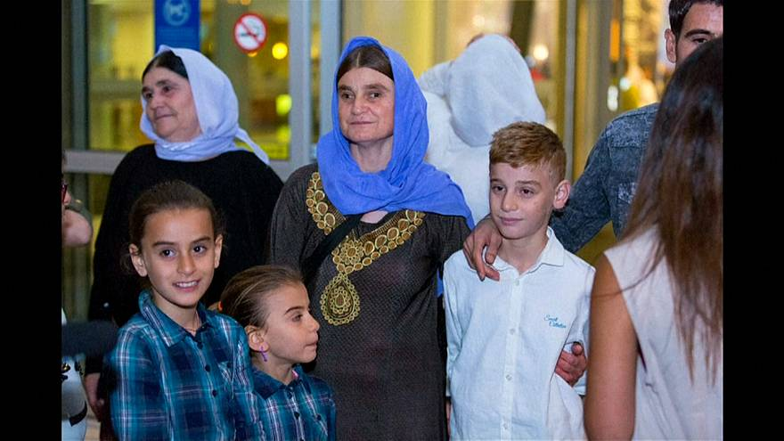 Yazidi boy reunited with mother in Canada after ISIL ordeal
