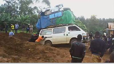 DRC drivers strike over poor roads in Beni