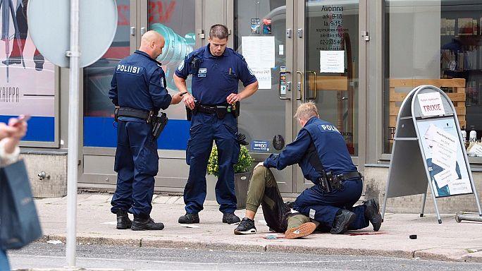 Finlandiya'da terör saldırısı: 2 ölü, 8 yaralı