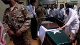 Eltemették Pakisztánban Ruth Pfaut