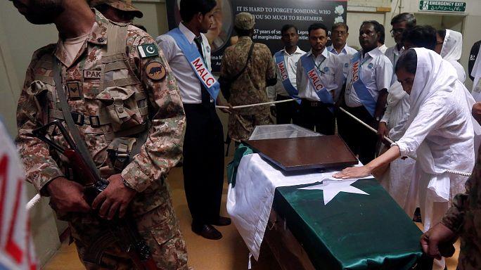 """Des funérailles nationales pour la """"mère Teresa du Pakistan"""""""