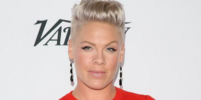 "Pink describes the source behind her lyrics for her song, ""Happy,"" on her new album, ""Hurts 2B Human."""