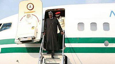 Le président Buhari de retour au nigeria, après un long séjour médical au Royaume-Uni