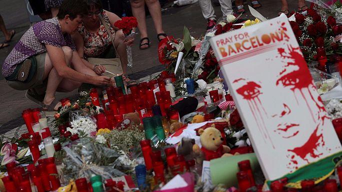La Rambla kurbanları anılıyor