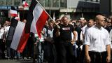 Berlin'de aşırı sağcılar yürüdü