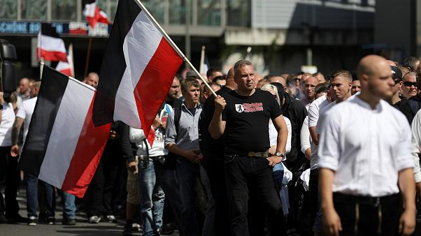German neo-Nazis rally to mark death of Rudolf Hess