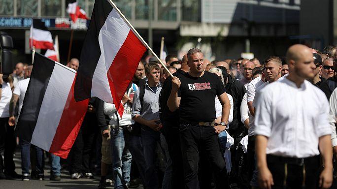 Des néonazis défilent dans les rues de Berlin