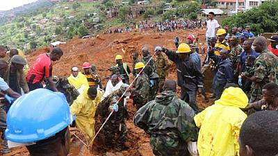 Sierra Leone threatened by a health crisis after deadly floods