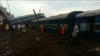 India train crash: dozens feared dead