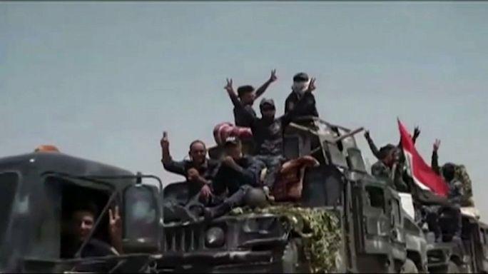 IS-Miliz im Irak zunehmend unter Druck